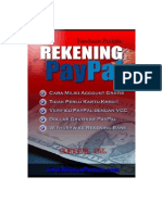 Membuat Rekening Paypal Unlimited