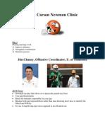 2011 Carson Newman Clinic
