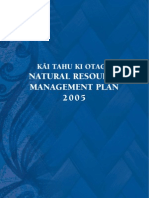 Natural Resource Management Plan 2005 - Table of Contents