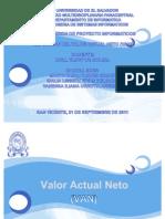 Expo Sic Ion Del Valor Presente Neto