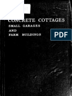 Concrete Cottages, Small Garages and Farm Buildings (1918)
