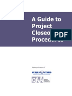 Constrcution Guide to Project Closeout Procedures