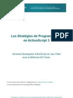 Stratégie de Programmation en ActionScript 3