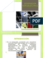 PROYECTO INTEGRADOR 7ºA GENERADOR HIDROELÉCTRICO
