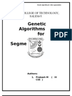 Genetic Algorithms Paper