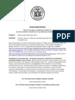 2-13-12 Roundtable Hearing List, Participant List, & Bios
