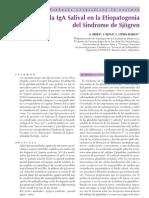 Rol de La IgA Salival en La Etiopatogenia Del SS