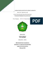 1. Afif Sejarah Pemikiran Islam - Khawarij - PPs IAIN Tulungagung