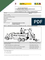 Roteiro Inspeção Sanitária- Solução Alternativa Coletiva Veículo Transportador