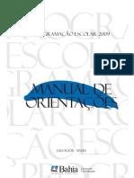 MANUAL DE PROGRAMAÇÃO 2009 À 2011