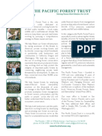 The Pacific Forest Trust - One Page Overview