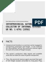 Inter Provincial Autobus v. CIR_PRESENTATION