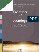 Hedström y Wittrock (eds.) (2009) - Frontiers of Sociology