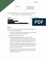 Apelación contra negativa de entregar código fuente