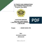 UAS AHP ( ANALYTICAL HIRARCHY PROCESS )