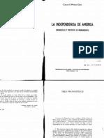 Muñoz Oraa La independencia de America