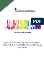 ALLAH'A SADIK OLMAK-Ubeydullah Arslan