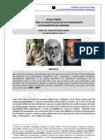 59. PAULO FREIRE Y LA ORIGINALIDAD CONSTITUTIVA DE SU PENSAMIENTO