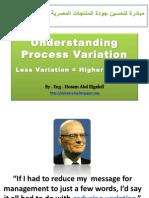 Understanding Process Variation