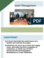 Chap 7 Constraint Management