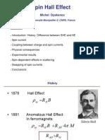 Michel Dyakonov- Spin Hall Effect