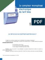 Livret Compteur Electronique Monophase