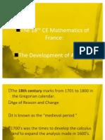 18th CE of Math Emetics