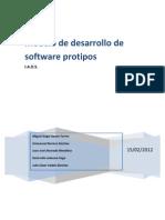 Modelo de Desarrollo de Software Prototipos