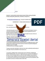 Sociedad Libertad Democracia Vivienda HOUSING ENLGISH