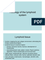 Histology of the Lymphoid System
