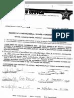 John Goodman Consent to Search Form