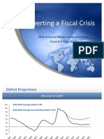 Averting a Fiscal Crisis - Why America Needs Comprehensive Fiscal Reform Now