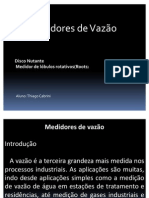 Medidores de vazão(Thiago Cabrini)