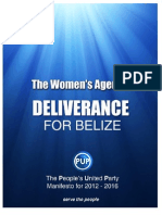 Women's Agenda 2012-2016