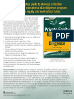Private Equity Operational Due Diligence Book Scharfman