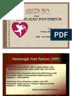 Askep Komplikasi Post Partum