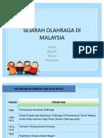 Sejarah Olahraga Di Malaysia