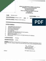 Scott Wilson Autopsy Results
