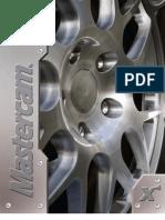 MasterCam - X4 - Training Tutorials Mill Level 3 Applications - Tutorial #6