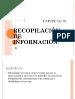 CAPITULO IX sistemas
