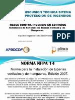 Norma Nfpa 14 Presentacion Final rio