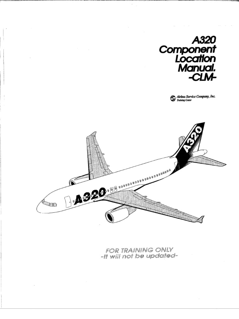 a320 component location manual clm