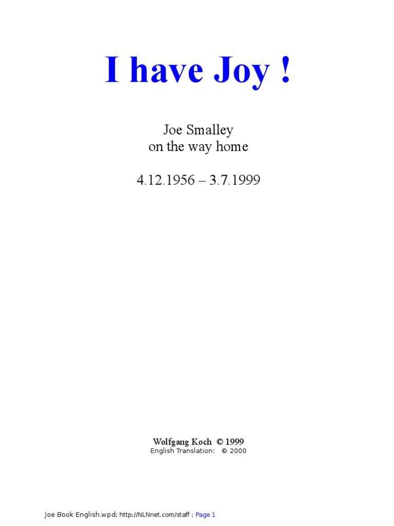I Have Joy Magnetic Resonance Imaging Prayer