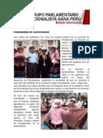 Bancada Nacionalista Gana Perú - Boletin Nº 15