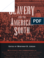 Slavery and the American South Chancellor Porter L Fortune Symposium in Southern History