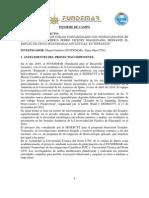 Informe de Campo Universidad