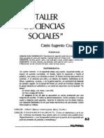 Taller de Ciencias Sociales