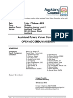 Auckland Council Future Vision Committee Agenda 17/2