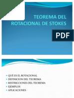 Teorema Del Rotacional de Stokes