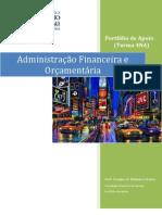 AFO (4NA) - Portfólio - Parte I